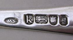 Marks silver identification plate A Guide